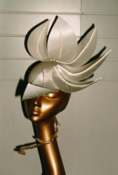 Special Occasion Ivory Leaf Hat