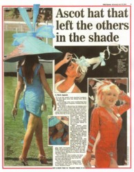 Tracy Rose Daily Express 2004