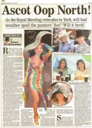Tracy Rose Daily Mail 2005