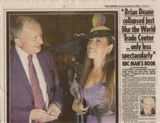 Tracy Rose Daily Mirror Sep 2002