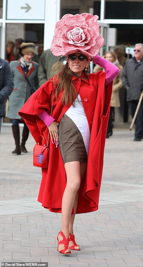 Daily Mail Online Tracy Rose Cheltenham Festival Ladies Day