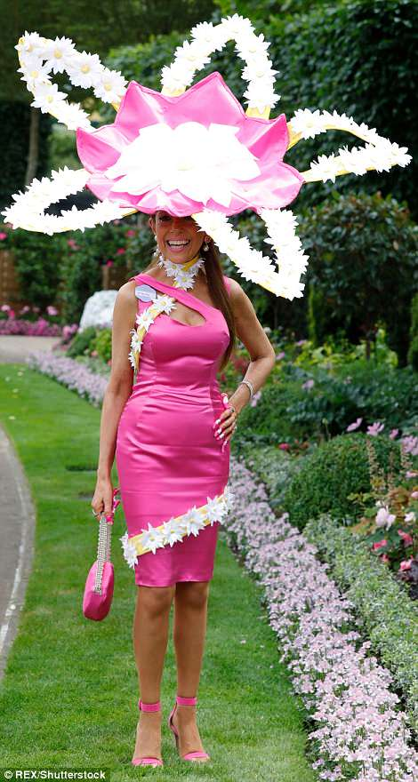 Daily Mail Online Day 1 Royal Ascot Tracy Rose