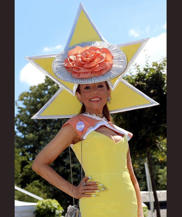 Daily Express Online - Tracy Rose during Day 4 of Royal Ascot